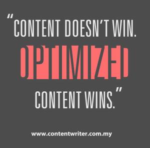 content wins